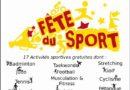 Fête du sport La Canourgue Dimanche 23 Septembre 2018
