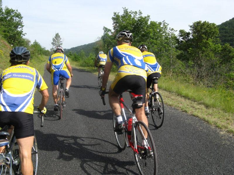 Sorties hebdomadaires du club   Route et VTT